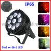LED DMX PAR 6in1 RGBWA+UV IP65 PAR LED