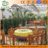 Hot Sale Large Multi-Span Ecological Restaurant Greenhouse