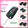 Auto Remote Key for Citroen 3 Buttons 433MHz (with groove) 0536