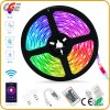 5m Length Music Sync Color Changing Light APP Controlled 5050 RGB LED Strip Light