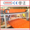 Width 880mm Double Layer PVC Roof Ridge Tile Machine