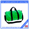 Designer Green Cotton Canvas Travel Duffel Bag