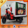Chinese Food Enclosed Cargo Tricycle