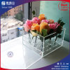 Custom Made Factory Clear Acrylic Rose Box with Lid