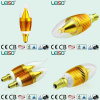Golden Color Housing LED Candle Light (E14 bulb)