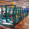 Removable Storage Glass Shelf Specification Storage Rack Metal Transport Rack for Glass Factory