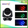 Mini RGBW 4-in-1 7*40W LED Moving Wash Head Light Zoom