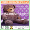 Ce Custom Plush Stuffed Children Toy Shiny Brown Soft Big Stomach Teddy Bear