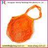 Strong Washable Reusable Fruit Cotton Mesh Shopping Bag Natural Color