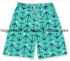 4 Way Fabric Board Shorts, Printed Design Beach Shorts for Man