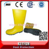 PVC Security Working Mining Knee Boots with Steel Toe