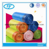 Plastic Disposable Drawstring Garbage Bag on Roll