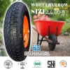 Rubber Wheel Carretilla Neumatico Wheelbarrow Wheel Wheelbarrow Tyre Tube 4.00-8