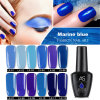 Nail Art New Classic Blue Ocean Series Nail Polish Barbie Glue Blue Demon Ji Blue Series Nail Polish
