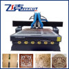 High-Efficiency Multifunction CNC Woodworking Machine with Vacuum Table and Dust Collection System