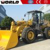 Ce Certificated Mini Wheel Loader with Grapple Bucket