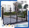 Decorative Swing Wrought Iron Gate for Countyard