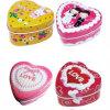 2020 New Design OEM Heart Shape Gift Tin