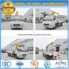 6 Wheels Jmc 3 Tons Telescopic Crane Mounted on Lorry Truck Price