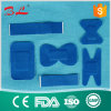Blue Ealstic Fabric Metal Detectable Adhesive Plasters