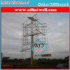 Solar Power Advertising LED Spot Lighting Billboard Structure
