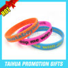 Custom Color Filled Silicone Bracelet Rubber Band (TH-08802)