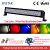 Dual Color Amber and White LED Car Light Bar for Offroad (GT31001-dual color)