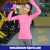Fitness Yoga Sports Women′s Quick-Dry Long Sleeve Shirt