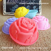 FDA Rose Shapefood Grade Silicone Cake Molds for Making Waffles
