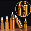 Gold Glass Dropper Bottle 20ml 30ml 50ml 100ml Spray Bottle