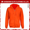 Cheap Fashion Men Orange Custom Hoodies Women (ELTHI-1)