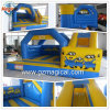 Kids Toys Moonwalk Slide Combo Inflatable Minions Bouncy Castle (MIJ-122)
