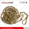 Galvanized High Test Towing Chain with Hook and Link