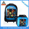 Student Stationery Rolling Trolley Backpack Back to School Bag