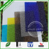 Colored Frosted Polycarbonate Crystal Panel PC Diamond Big Embossed Solid Sheets