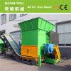 Large capacity packed plastic film shredder/shredding machine