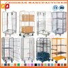 Warehouse Storage Stackbale Folding Logistic Wire Security Roll Container (Zhra42)