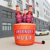 Full Printing Inflatable Beer Bottle Group for Brand Marketing