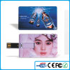 Promotion Business Credit Card USB with Customized Logo Two Sides and Nice Package