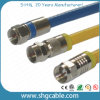 RF Compression Connector for Coaxial Cable Rg59 RG6 Rg11