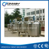 Pl Stainless Steel Jacket Emulsification Mixing Tank Oil Blending Machine Mixer Sugar Solution Paint Shampoo Mixer
