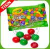 Color Your Mouth Dubble Bubble Assorted Christmas Sour Gumballs