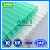10 Years Warranty Building Material Polycarbonate Sheets with UV Coated