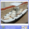 Ce 9person High Quality 5, 8m Fibreglass Inflatable Boat/Yacht