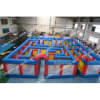 Giant Inflatable Games Laser Maze 33*33FT Inflatable Laser Bag Sport Games for Kids N Adults Outside Toys for Sale