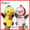 2 Colors Cute Plush Chicken Hand Puppet Doll for Educational