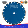 350mm Wide U Slots Laser Welded Diamond Saw Blades for Asphalt Cutting