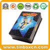 Rectangular DVD Tin Case for Kids, Metal CD Tin Box
