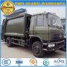 Dongfeng 180 HP 6 Wheels Refuse Compress Truck 15 T Compactor Garbage Truck