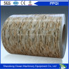 Wood/Marble/Brick/Camouflage/Diamond Embossed Pattern Printed Color Coated Steel Coil PPGI